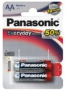 Батарейка Panasonic AA Everyday Power LR6EPS в блистере 2шт